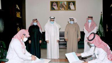 Photo of محافظ القريات يشهد توقيع اتفاقية بين جمعية الحياة وجمعية الخدمات الصحية