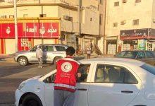 Photo of متطوعو هلال القريات يوزعون وجبات الإفطار ببعض المواقع العامة