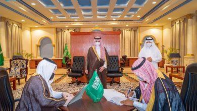 """Photo of أمير منطقة الجوف يشهد توقيع اتفاقيات لشؤون الإسكان ويطلق """" مبادرة الحلوتين """""""