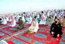 Photo of محافظ القريات يتقدم المصلين في صلاة العيد