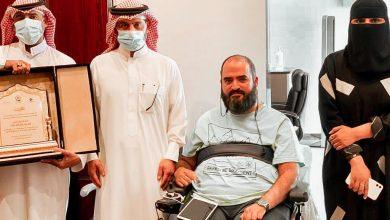Photo of جمعية سفراء السلام لخدمات الأشخاص دوي الإعاقة بالجوف تكرم رجل الأعمال العوذة