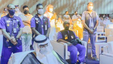 "Photo of فريق (همة حتى القمة ) التطوعي يشارك في معرض قبة جدة ""سوبر دوم"""