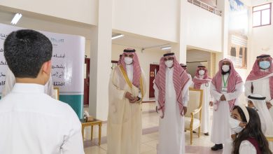 Photo of سمو أمير منطقة الجوف يزور المدارس ويطمئن على استعدادات التعليم لبداية العام الدراسي الجديد