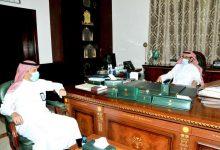 Photo of محافظ القريات يلتقي مدير الشؤون الصحية بالمحافظة