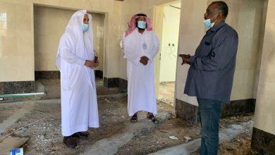 Photo of مدير عام هيئة الأمر بالمعروف بمنطقة الجوف يتفقد مشروع مبنى هيئة دومة الجندل
