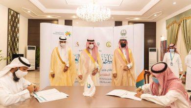 Photo of سمو أمير منطقة الجوف يستقبل وزير الموارد البشرية ويشهد توقيع 6 اتفاقيات و7 عقود تمويل لأبناء المنطقة
