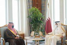 Photo of سمو أمير دولة قطر يستقبل سمو الأمير عبدالعزيز بن سعود بن نايف