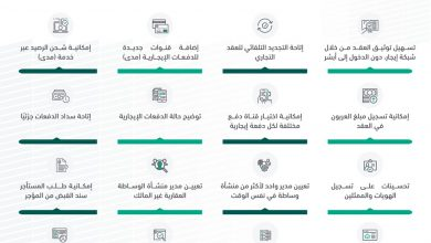 "Photo of برنامج ""إيجار"" يطلق عدداً من الخدمات في شبكته الالكترونية"