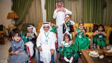 Photo of أطفال جمعية ذوي الإعاقة بجدة ينظمون مسيرة حب للوطن